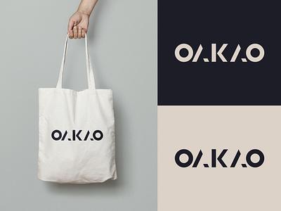 Fashion Brand Logo logodesign flat logo oakao fashion fashion logo dailylogodesign dailylogochallenge