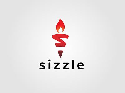 Flame logo logo design monogram logo creative logo flame logo flame flat logo dailylogochallenge sizzle
