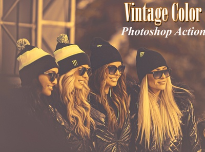 Vintage Color  Photoshop Action