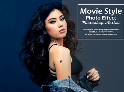 Movie Style Photo Effect Action photoshop tutorial selective color photo editor images image fresh effects digital art digital photography photo effect colorful duble exposure vintage cinematic film grain color grading movie poster movie style photo effect action