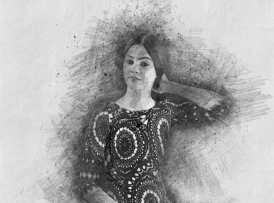 Pencil Drawing Sketch PS Action manipulation professional template photoshop psd portrait brush action artistic images effect color hand drawing line art outlin drawing sketch portrait pencil sketch photoshop action sketch art pencil drawing sketch action