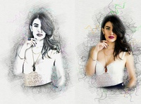 Modern Sketch Effect Photoshop Action vector sketch pattern comic book photoshop action sketch action atn adobe photoshop photoshop tutorial realistic professional portrait urban sketchers effect sketch art photoshop modern pencil sketch hand drawing brushes photoshop vector effect pencil drawing