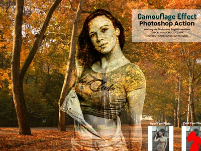Camouflage Effect Photoshop Action adobe photoshop photoshop tutorial portrait sketch watercolor effect painting effect texture generator photoshop elements photo editing abstract realistic vintage artistic photoshop projects artistic forest style camouflage texture urben forest tiled graffiti camouflage