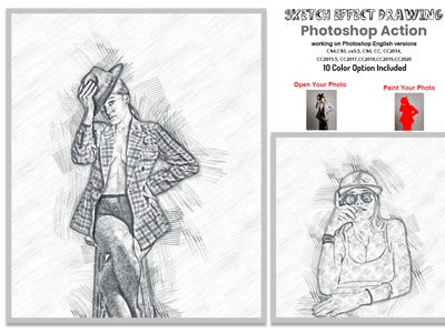 Sketch Drawing Effect Photoshop Action colorful photo effect pencil drawing artist color paint real portrait watercolor sketch action comic sketch realistic sketch cartoon sketch outline sketch adobe photoshop hand drawing modern  sketch quick sketch sketch art pencil sketch sketch portrait realistic pencil drawing sketch portrait action sketch  drawing effect