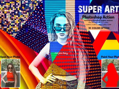 Super Art Photoshop Action patterns vibrant photography digital colorful photoshop photo effect photoshop action multi color photo manipulation photoshop atn premium photoshop vector color art arttistic effects photoshop watercolor photoshop vector art super painting stylish art super art photoshop