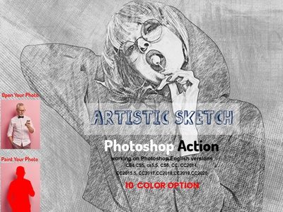 Artistic Sketch Photoshop Action style pen sketch sketch art patterns charcoal vector sketch photography digital realistic photoshop textures patterns photo effect photoshop action architecture sketch photo manipulation hand sketch pencil photo artistic sketch art pencil drawing