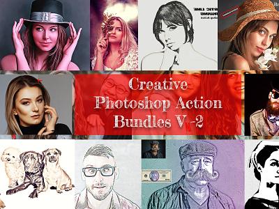 Creative Photoshop Action V-2 addons bundles