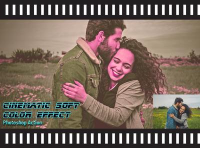 Cinematic Soft Color Effect Photoshop Action