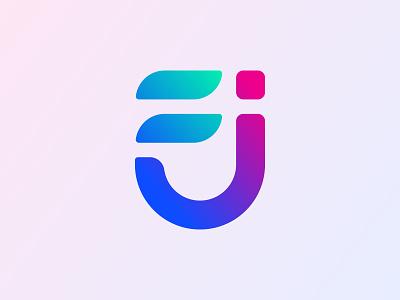 F+J Logo Design logo trend 2021 abstract logo app icon app logo brand identity branding branding design creative logo colorful graphic design icon illustration icon design logo logo design logos logo designer logo insparation modern logo