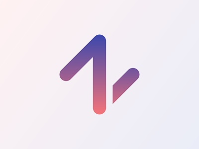 Z N Logo with Arrow symbol app icon corporate trending logo colorful creative logo modern logo logo designer logo design logos logo icon dsign illustration icon graphic design gradient logo design branding design abstract branding brand identity