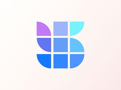 SB Logo Design   Smart box Logo modern logo