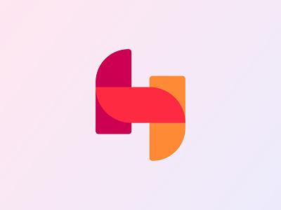 HS Logo | Letter H Logo Design modern logo logotype logo designer logo inspiration logos logo design logo icon design illustration icon graphic design design colorful creative logo branding brand identity app logo app icon abstract logo abstract