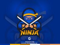 NINJA Mascot for SALE