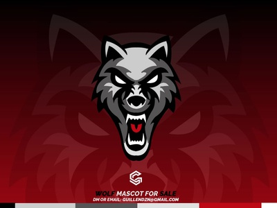 WOLF  Mascot for SALE