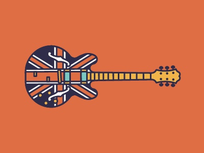 S is for Shred epiphone illustration stick guitar shred