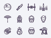 Star wars icons x2