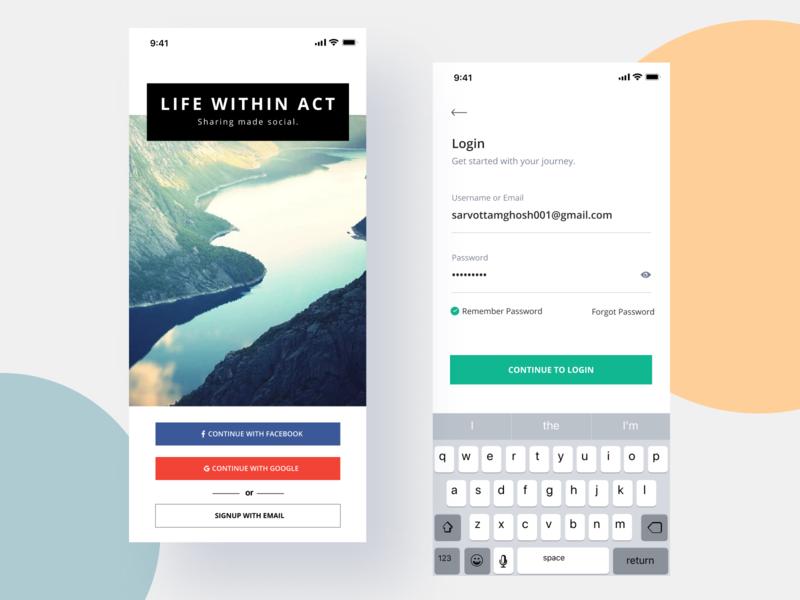 Charity app 1 gradient illustration app design interface interaction clean colors ui sarvottam
