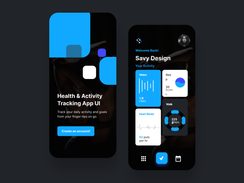 Fitness App fitness app ui design hello dribbble gradient illustration app design interface interaction clean colors ui sarvottam