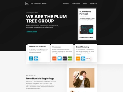 The Plum Tree Revamp ( Fictional Concept ) ux designer revamp ux design ui design icon typography ux vector hello dribbble branding logo gradient clean colors ui sarvottam