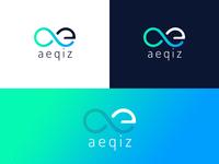 aeqiz logo design concept 2