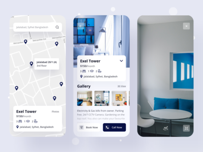 Real Estate : Rental App twinkle rental app booking creative real estate realestate mobile app design rental mobile app mobile ui mobile minimal app design uidesign clean design ux ui