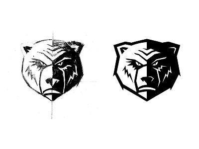 Russian bears sports branding sports logo sportswear sports design sports sport russian russia bears animallogo animal head bear sign