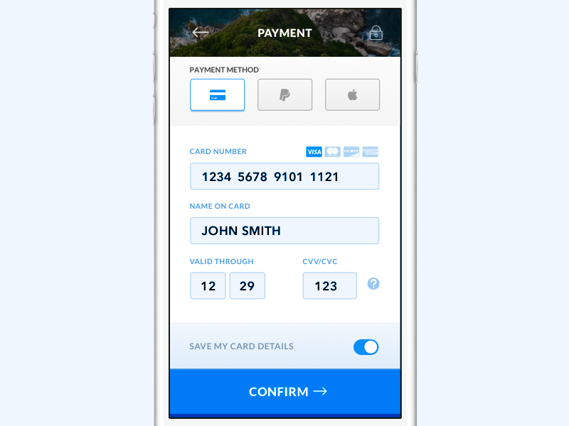 Credit Card Checkout 002 dailyui mobile sketch checkout card credit form payment