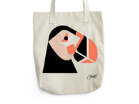 Puffin Tote WIP