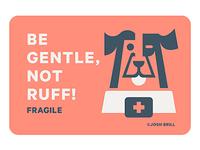 Fragile Sticker WIP