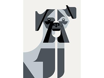 Boxer Portrait WIP illustration artwork art brill josh dog wip portrait boxer