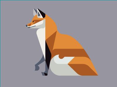 Red Fox WIP mammal illustration design art brill josh wip fox red