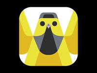 Hooded Warbler Icon