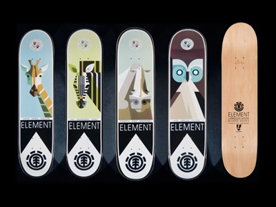 Lumadessa Nature Decks From Element Skateboards By Josh
