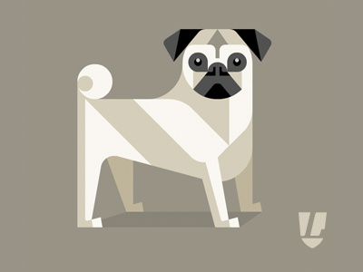 Dog pd dribbble