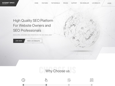 Internet Space Agency banner add design scientific website space website space seo website website design database website database scientific illustration black and white blackandwhite black  white banner design banner earth low polly lines diagonals search engine optimization search engine seo