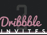 Dribbble invitations giveaway