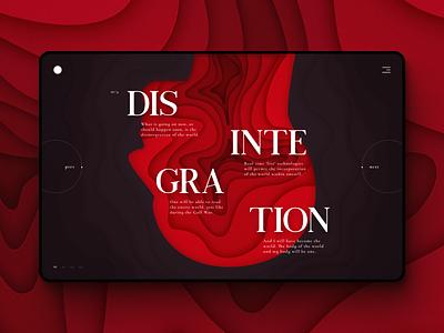 Graphic Web Design 1.0 graphics screen landingpage papercut gradient graphic illustration art illustraion illustrations illustrator graphic deisgn typography vector illustration design ui  ux uiux ui design uidesign ui