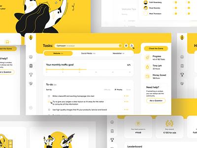 SaaS Website minimalist uidesign web design webdesign minimalism ui  ux uiux ui design ui saas crm software crm