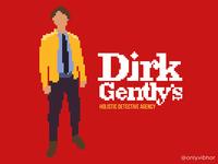 Dirk Gently Pixel Art