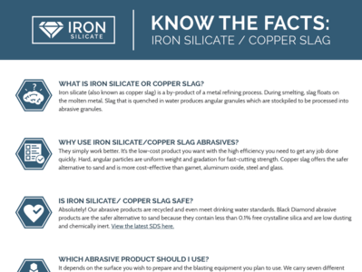 US Minerals: Know The Facts Sell Sheet