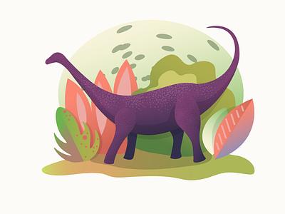 Brontosaurus paleontology brontosaurus jurassic world jurassicworld jurassic park jurassicpark jurassic prehistoric prehistory dino dinosaurus dinosaur vector illustration illustrator design