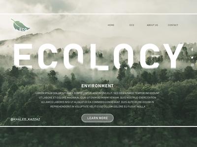 Ecology Landing Page