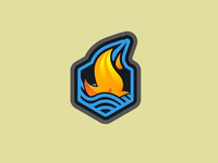 Fire on Water - Badge Design