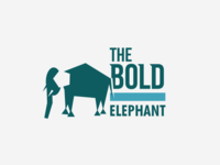 The Bold Elephant - Logo Design
