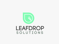 Leafdrop Solutions - Logo Design