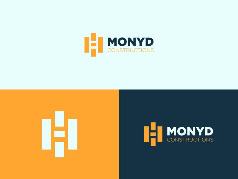 MONYD - Logo Design modern professional identity construction creative flat design clean simple design simple minimalist minimal logo design logo branding brand design brand identity