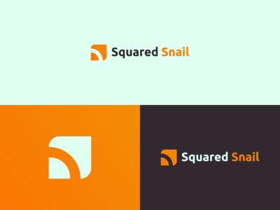 Squared Snail - Logo Design