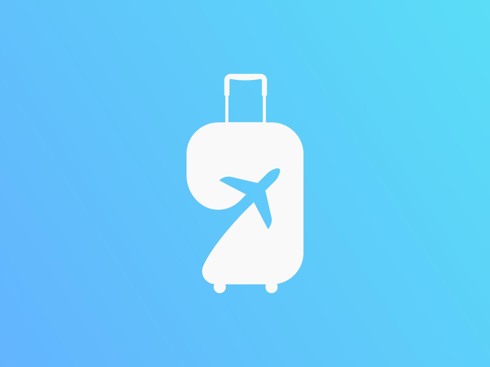 Travel Agency - Logo Concept by Jesús Díaz on Dribbble