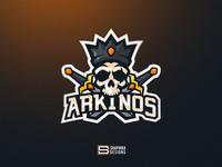 SKULL KING Mascot Logo