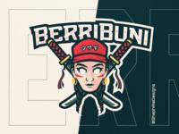 BERRIBUNI Mascot Logo